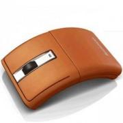 Безжична мишка Lenovo N70 - mouse, оранжева