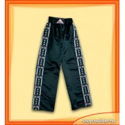 Full Trouser. Black. Kick, Satin (kom)