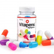 """Rotuladores subrayadores """"Vitapens"""""""
