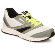 Reebok Mens White Yellow Sport Shoes