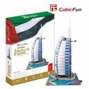 Puzzle 3D Hotelul Burj-Al-Arab Dubai