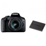 Canon Lustrzanka cyfrowa CANON EOS 2000D + 18-55mm IS II + LP-E10