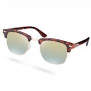 Paul Riley Tortoise Sonnenbrille Mit Verspiegelten Gläsern