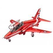 Modelul de aeronavă din plastic ModelKit 04921 - Șoimii roșii BAe Hawk T.1 (1:72)