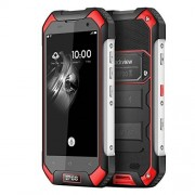 Blackview BV6000S WaterproofSmartphone 4G LTE IP68 4.7'' HD MT6735 Quad Core Android 6.0 Mobile Cell Phone 2GB RAM 16GB ROM 8MP(Red)
