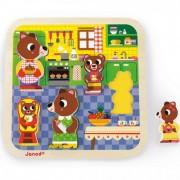 Chunky puzzle - konyha Janod