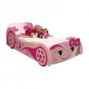 Vipack autobed Love - roze - 68,3x101,4x213 cm - Leen Bakker