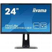 IIYAMA ProLite XB2483HSU-B3 Monitor Led 24'' Full HD (1080p) A-MVA 250 cd m² 3000:1 4 ms HDMI, VGA, DisplayPort altoparlanti nero