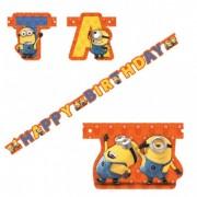 Banner HAPPY BIRTHDAY MINIONI
