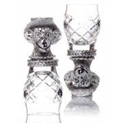 Set 2 Pahare Vodka Scimmia, by Chinelli - made in Italy
