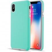 Funda Case Para Iphone Xs Max Protector De Uso Rudo - Menta