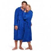 BadrockdeLuxe Badstof badjas koningsblauw