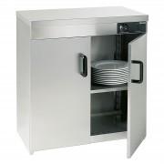 Bartscher Ohřívač talířů - 2 dveře - na 110 - 120 talířů