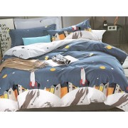Lenjerie de pat din bumbac satinat 4 piese T50-397