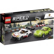 LEGO® SPEED CHAMPIONS 75888 Porsche 911 RSR en 911 Turbo 3.0
