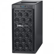 Сървър Dell PowerEdge T140, Intel Core i3 8100 (3.6GHz,4C/4T,6M),8GB 2666 DDR4 ECC UDIMM, 2x1TB SATA,Embedded SATA,iDrac9 Basic,3.5 Chassis, #DELL0241