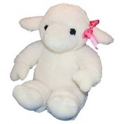 Recordable 15 Plush Lamb with 10 Second Digital Recorder