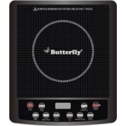 Butterfly Power Hob Jet Induction Cooktop(Black, Push Button)