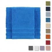 Bassetti Set asciugamano e ospite spugna BASSETTI TIME tinta unita -vari colori