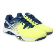 Asics GEL - RESOLUTION 6 Running Shoes For Men(Yellow)