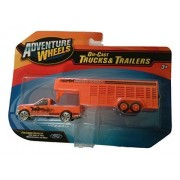 Adventure Wheels Die Cast Trucks & Trailers Horse Transport By Adventure Wheels