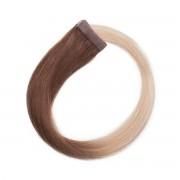 Rapunzel® Extensions Naturali Quick & Easy Premium Liscio O5.1/10.8 Medium Ash Blond Ombre 50 cm