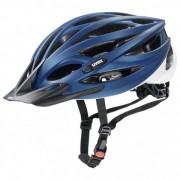 Uvex - Oversize - Casque de cyclisme taille 61-65 cm, bleu/noir/gris