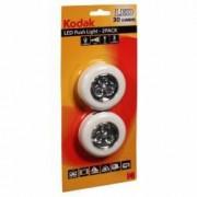 Spot LED 30 lumeni fixare autoadeziva 6.5 cm Kodak set 2 bucati