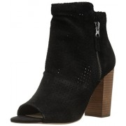 Jessica Simpson Women's Keris Ankle Bootie, Black, 9.5 M US