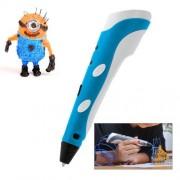 Hand-held 3D Printing Pen (Blue)