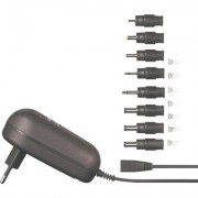 VOLTCRAFT SPS 12 - 12W univerzális dugasz adapter 3 - 12V 1A DC (513000)