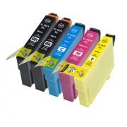 (5pack) EPSON T1636 multipack 16XL - kompatibilné náplne do tlačiarne Epson