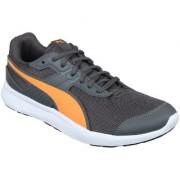 Puma Men'S Escaper Mesh Iron Gate-Shocking Orange-P Orange Sports Shoe