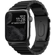 Nomad Titanium Band Black Apple Watch 44/42mm