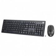 Kit tastatura si mouse Serioux Kit Noblesse 9600, Black,