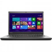 "Notebook Lenovo ThinkPad T440p, 14"" Intel Core i5-4300M, RAM 8GB, 1TB Hybrid, Windows 7 Pro, Negru"