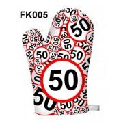 50-es karikás 005 - Tréfás Edényfogó kesztyű