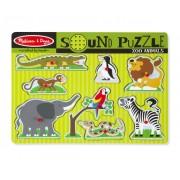 Melissa & Doug Hangos puzzle, Állatkert