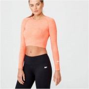 Myprotein Top Curto Shape Seamless - L - Light Coral Marl