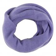 Les Poulettes Bijoux Echarpe Tube 100% Cachemire 4 Fils Volume Colors - Violet