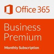 Microsoft Office 365 Business Premium - Abonament lunar (o lună)