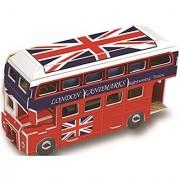 3d Puzzle NEW double-decker bus B668-80 Cubicfun magic puzzle 21 Pieces