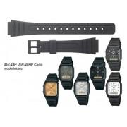 AW-48 Casio fekete műanyag szíj