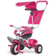 Smoby Baby Balade Pink Tricycle Pink