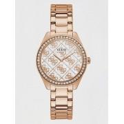 Guess Analoog Horloge 4G Logo - roze goud - Size: T/U