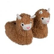 Merkloos Alpaca/Lama pantoffels voor volwassenen 39/40 - Sloffen - volwassenen