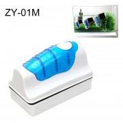 Zy-01m Aquarium Fish Tank Suspendido Magnetic Brush Cleaner Herramientas De Limpieza, M, Tamaño: 9,5 * 7.4 * 4.5cm
