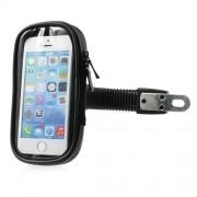 Shop4 - iPhone SE Motorhouder Stuur Zwart