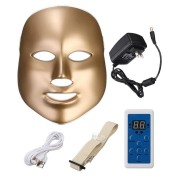 LED Photon Skin Rejuvenation Facial Neck Mask Beauty Therapy Machine Firming Tightening 7 Colors