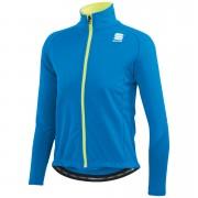 Sportful Kids' Softshell Jacket - Blue/Yellow - 14Y - Blue/Yellow